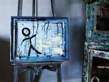 Chalkpainting original - Simple man