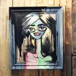 Chalkpainting - Julia