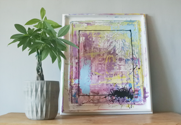 Chalkpainting original - PERFECTLY IMPERFECT, 3970 sek