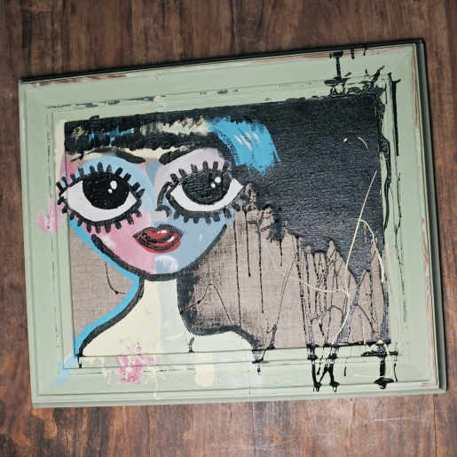 Chalkpainting - Hanna